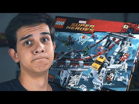 LEGO Marvel БИТВА НА МОСТУ - Набор На Обзор (76057)
