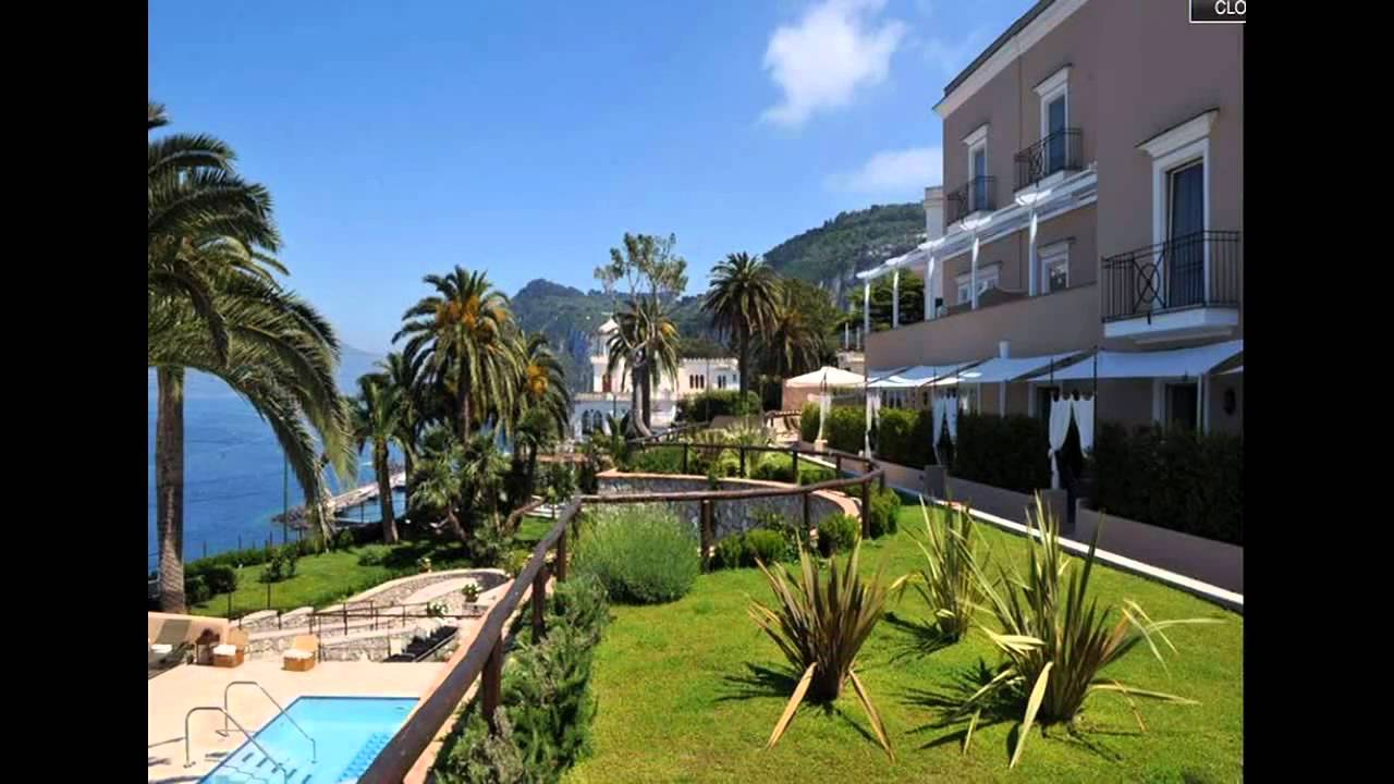 Villa Marina Capri Hotel Spa In Capri Italy Youtube