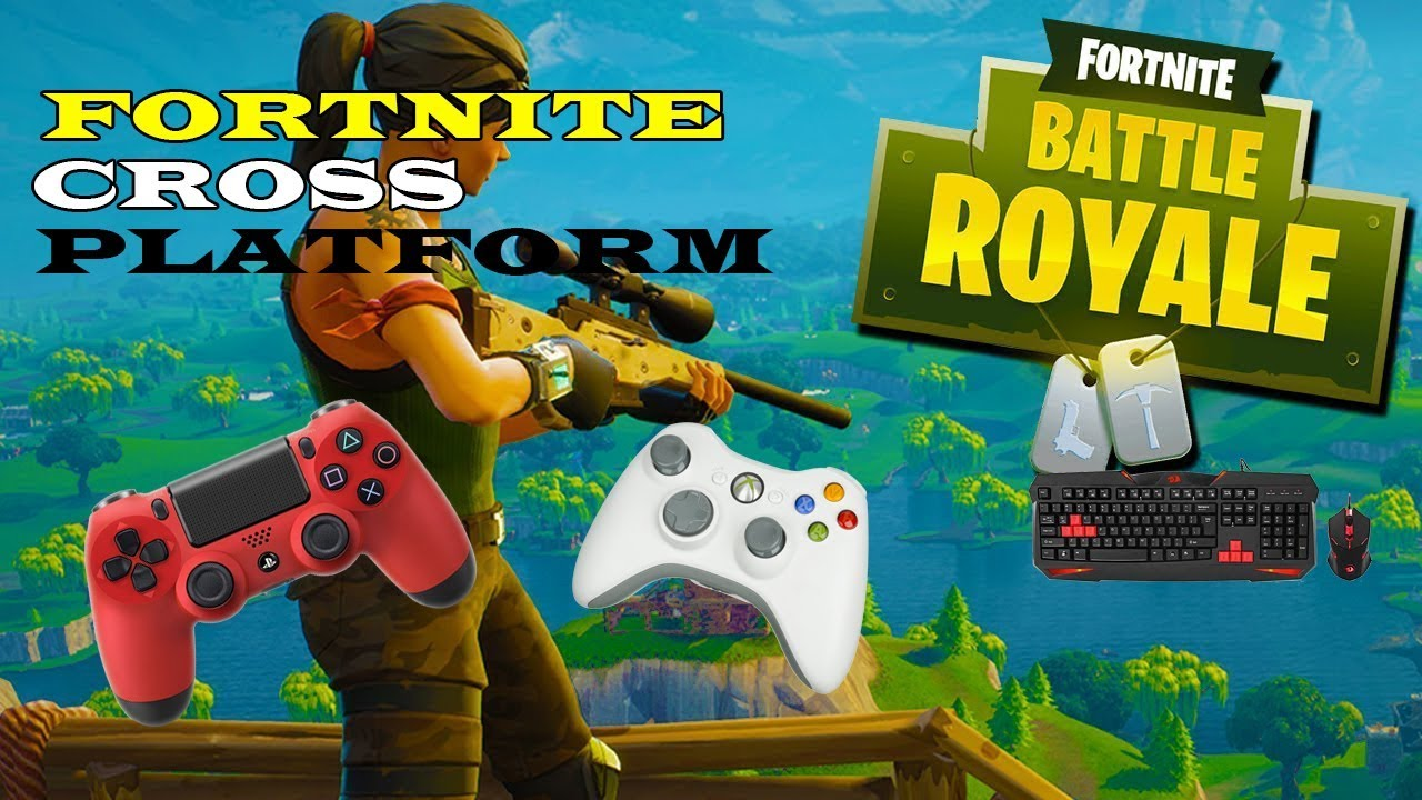 how to play cross platform in fortnite battle royale pc ps4 xbox - fortnite battle royale cross play pc ps4