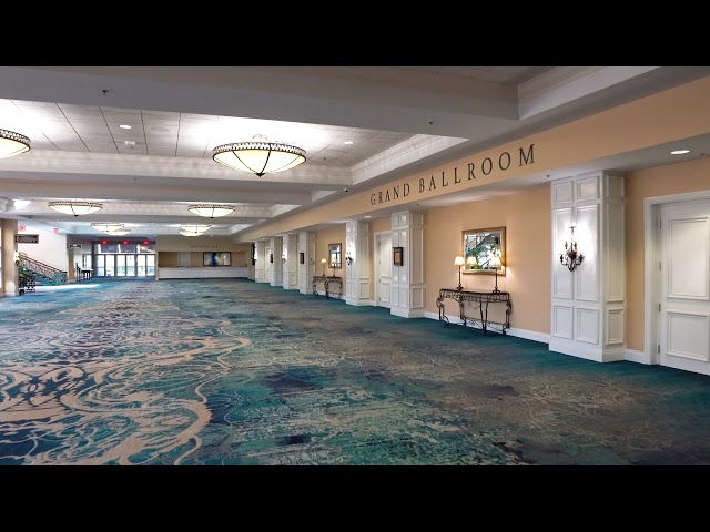 Rosen Plaza Grand Ballroom Pre Function & Registration Desk A&B
