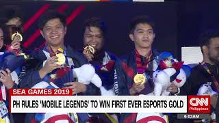 PH rules 'Mobile Legends' to win first ever E-sports gold