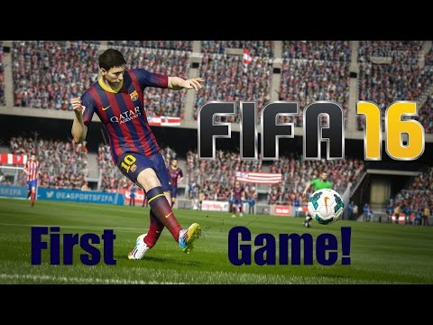 FIFA 16 | DEMO | FIRST GAME!