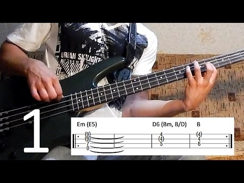 Metallica Orion bass lesson (1 of 4 - how to play INTRO) + bass tab