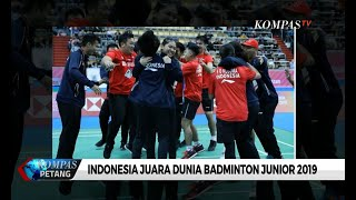 Sejarah! Tumbangkan Tiongkok, Indonesia Rebut Piala Suhandinata