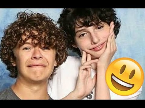 Stranger Things Cast 😊😊😊 - Finn, Millie, Noah and Gaten CUTE AND FUNNY MOMENTS 2018 #6