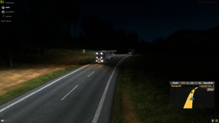 Vuelta a la oficina ruta multiplayers en euro truk simulator 2