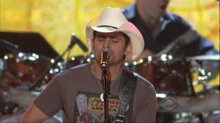 Brad Paisley singing My Next Broken Heart (HD) - Brooks and Dunn ACM Last Rodeo