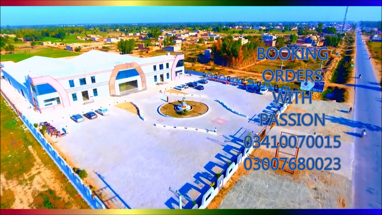 VICTORIA PALACE EVENT COMPLEX BHAGTANWALA droneview - YouTube