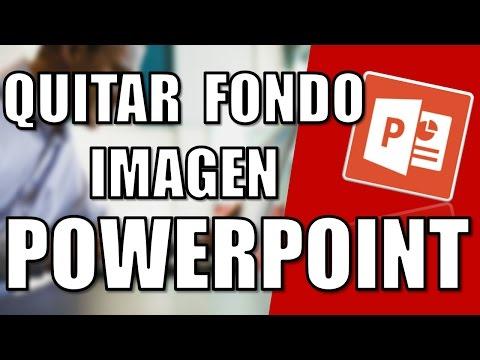 Como Quitar el Fondo de una Imagen con PowerPoint - 2016