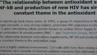 HIV Cure with Antioxidants???
