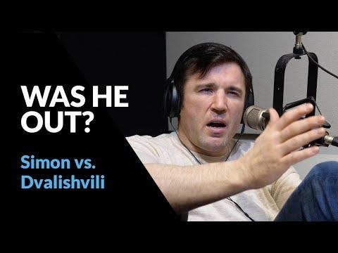 Chael Sonnen talks Ricky Simon's controversial choke against Merab Dvalishvili