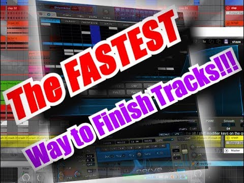 The FASTEST Way To Finish Tracks With XFer Records Nerve VST 2018