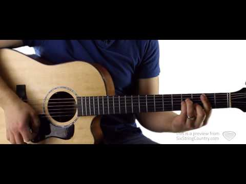 You Chris Young Guitar Lesson and Tutorial