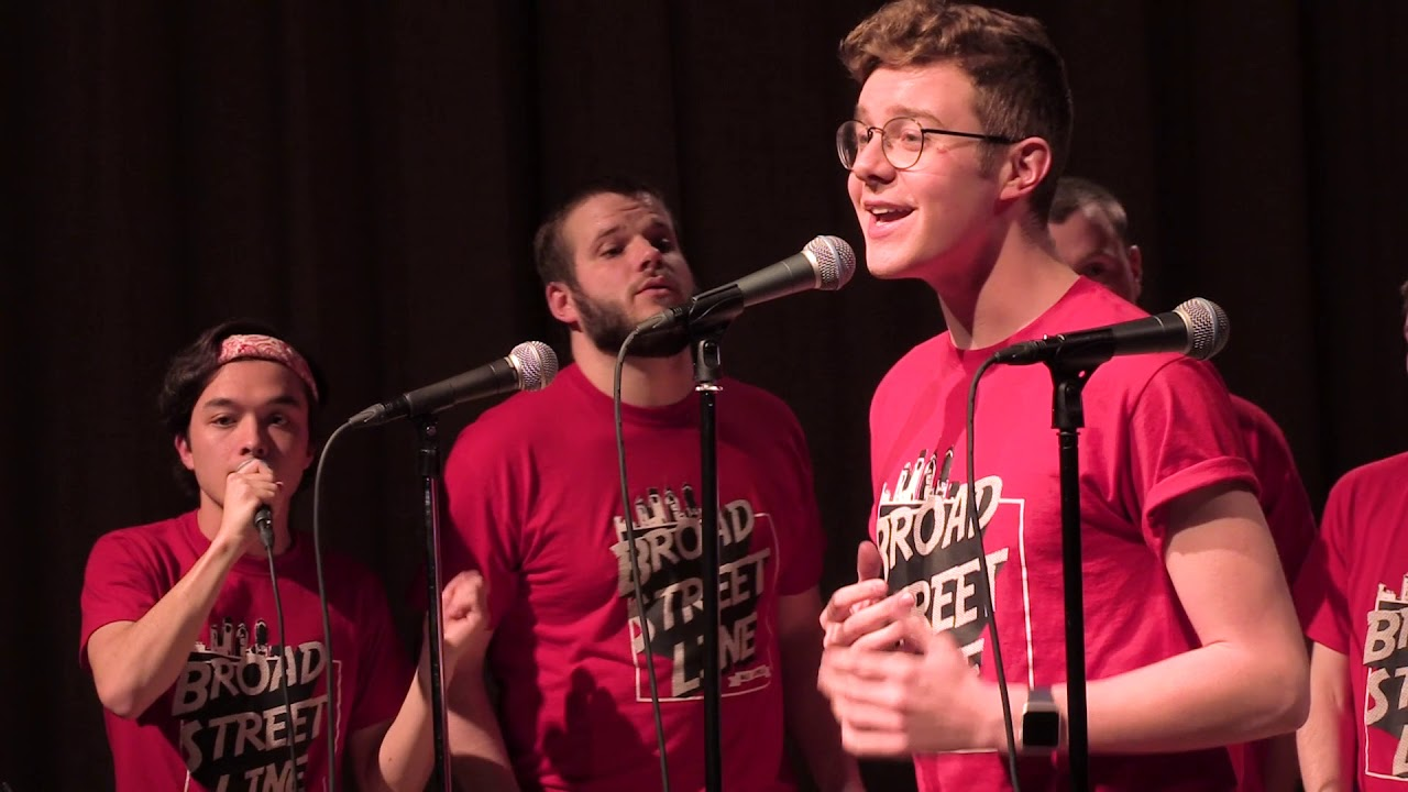 I Want It That Way - Backstreet Boys - Broad Street Line A Cappella