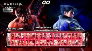 Tekken 6 (PPSSPP) Devil Jin Arcade Mode | Extreme