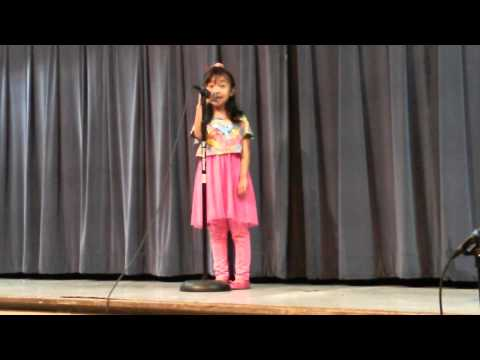 That's falling in love Melany 1st Talent show