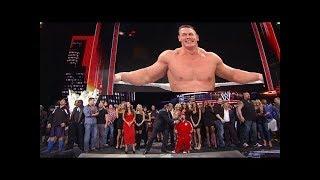 "WWE The Great Khali and Divas sing ""Happy Birthday"" to John Cena !"