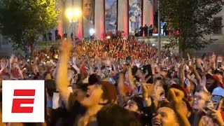 What it looked like in Washington as the Capitals won their first Stanley Cup | ESPN