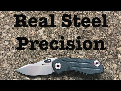 """Real Steel 3001 Precision - Great Sub-3"""" User"""