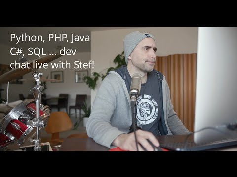 Stefan Is Live ... Taking Your Python, Java, JavaScript, Node Questions For 60 Minutes!