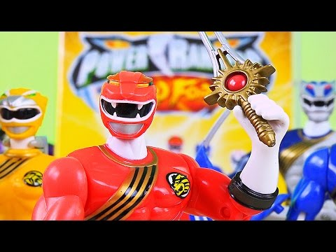 Power Rangers Wild Force on DVD! (Wild Force Toy Review!)