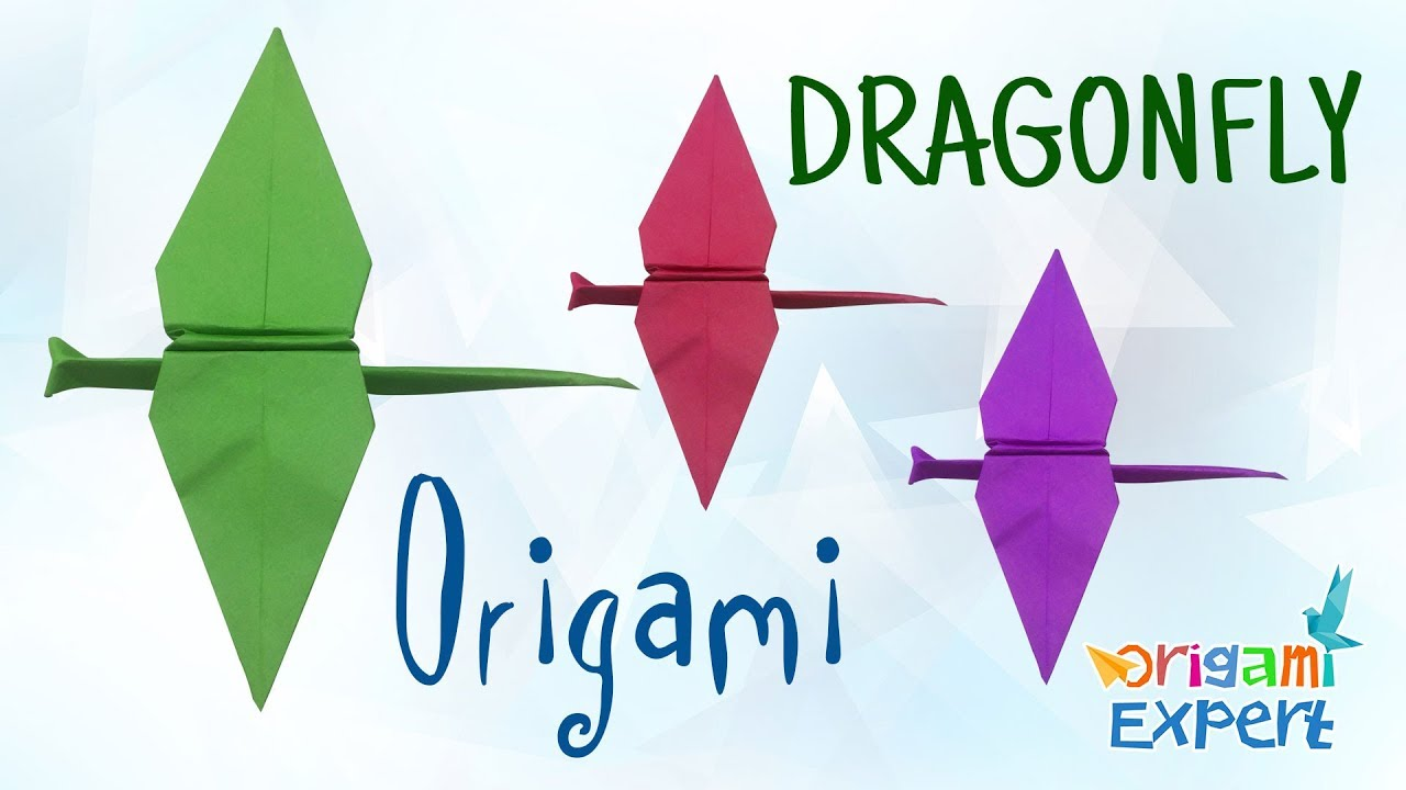 How to make a dragonfly origami dragonfly make a paper how to make a dragonfly origami dragonfly make a paper dragonfly jeuxipadfo Image collections
