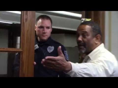 University of Michigan Police interupt a BAMN Tribunal on Racism and Police Brutality