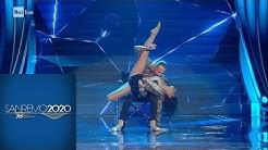 Sanremo 2020 - Ivan Cottini balla con Maria Berardi