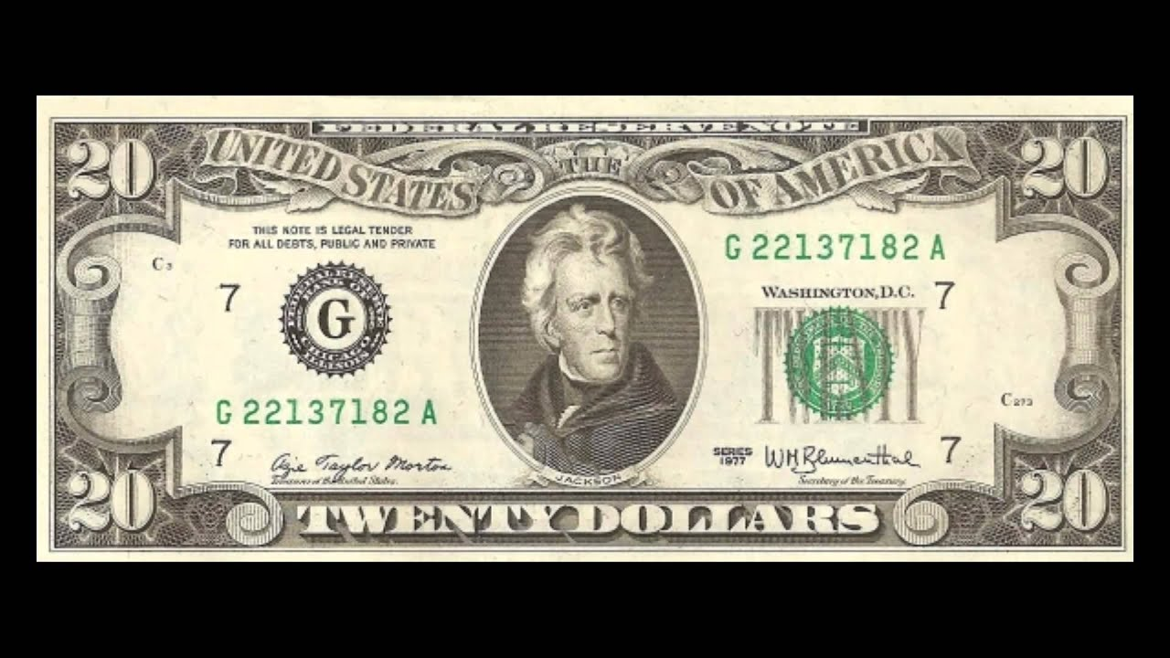 US Dollar Banknotes - The 1977 Series - YouTube