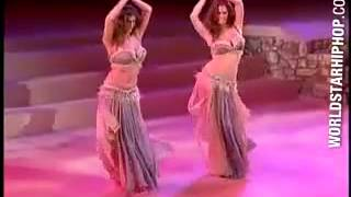 Video Random Clip Of The Week 2 Lebanese Belly Dancers Showing Out For 2 Minutes Of Bliss!