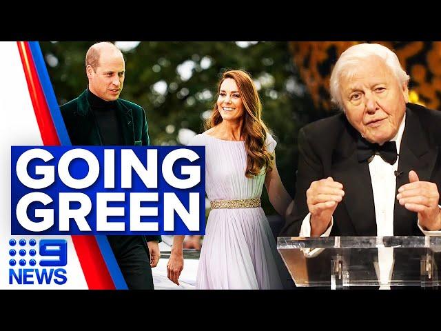Prince William holds inaugural Earthshot Prize ceremony | 9 News Australia