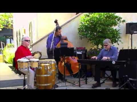 "Vince Delgado Jazz Trio ""Laura"" with Tom Shader (bass) & John Groves (keyboard)"