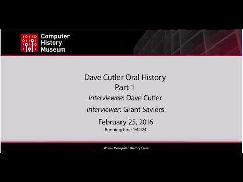 Internets of Interest #6: Dave Cutler on Dave Cutler | Dave Cheney