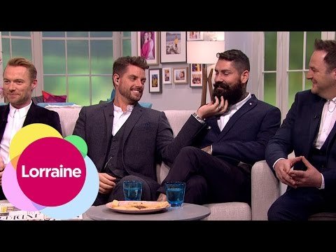 Boyzone's Reunion Tour And Shane's Amazing Beard | Lorraine