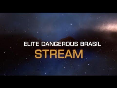 Elite Dangerous Brasil Live Stream - 2.1 Upgrades e Salto de 45+ ly