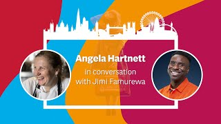 London Rising: Chef Angela Hartnett in conversation with journalist Jimi Famurewa