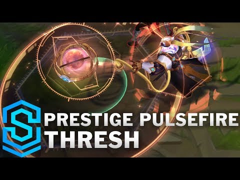 Prestige Pulsefire Thresh Skin Spotlight - League of Legends