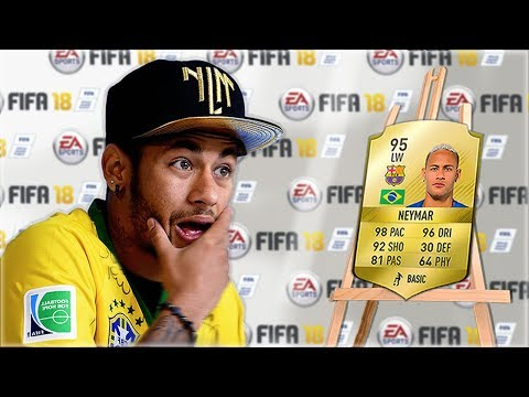 Footballers REACT to their NEW FIFA Ratings... (w/ Neymar, Messi, Ronaldo)