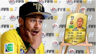One of xDuttinho's most viewed videos: Footballers REACT to their NEW FIFA Ratings... (w/ Neymar, Messi, Ronaldo)