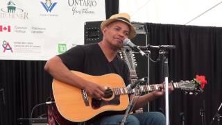 Guy Davis - Taking Just a Little Bit of Time - Live at Kitchener Blue Festival (KBF) 2015