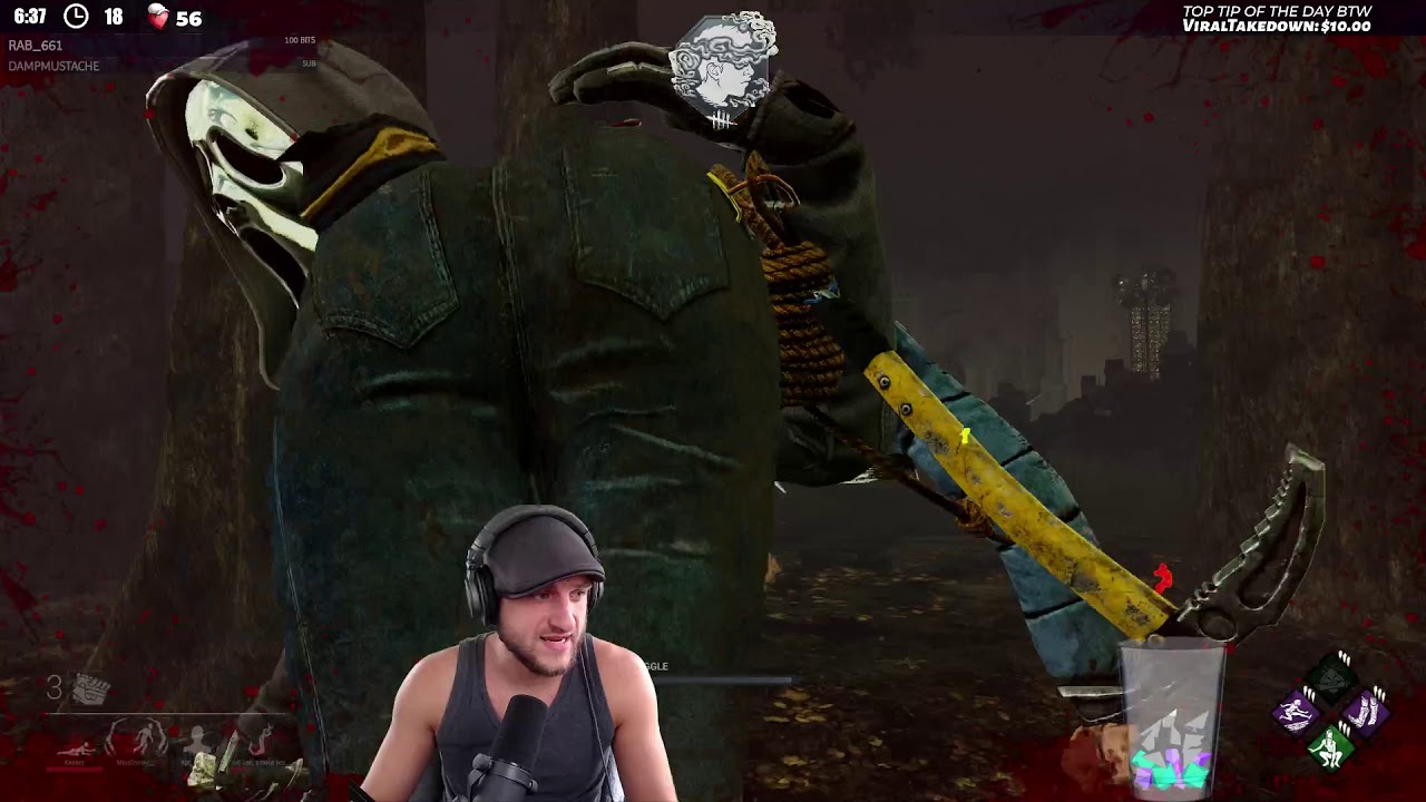 THIS IS ROUGH! - Dead by Daylight!