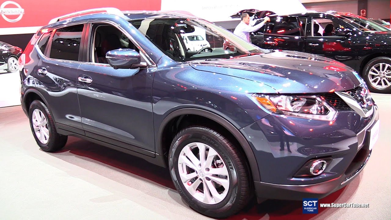 2016 Nissan Rogue SV   Exterior And Interior Walkaround   2015 LA Auto Show    YouTube
