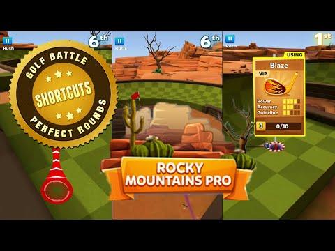 Golf Battle | Rocky Mountains | 4 Power Club | Tips, Tricks & Shortcuts