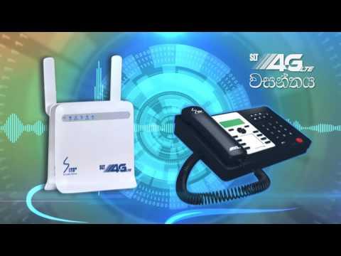 Sri Lanka Telecom - 4G Wasanthaya Promo (sinhala)