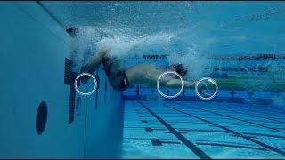 Плавание кролем - скоростной поворот | Техника плавания | Выполняет Владимир Морозов |  Mad Wave