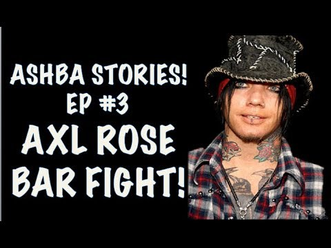 Guns N' Roses: DJ Ashba Stories EPISODE 3  Axl Rose Bar Fight!