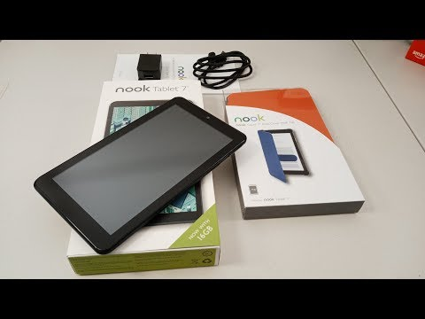 """Barnes and Noble NOOK Tablet 7"""" (2018) Unboxing and First Look"""