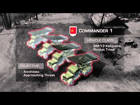 Company of Heroes 2: Multiplayer Gameplay Trailer (Official HD)