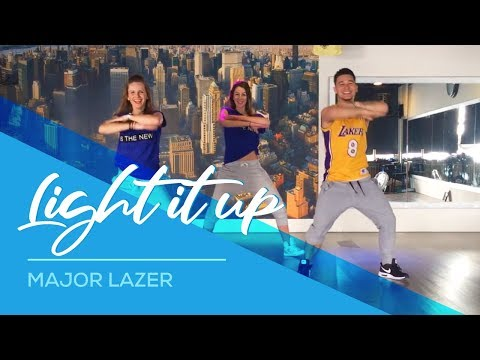Light it up  Major Lazer  Easy Dance Fitness Choreography