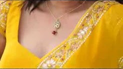 Big boob south indian aunty h@t saree fall clip1